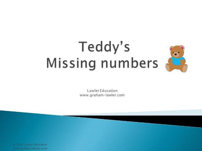 Teddy's Missing Numbers