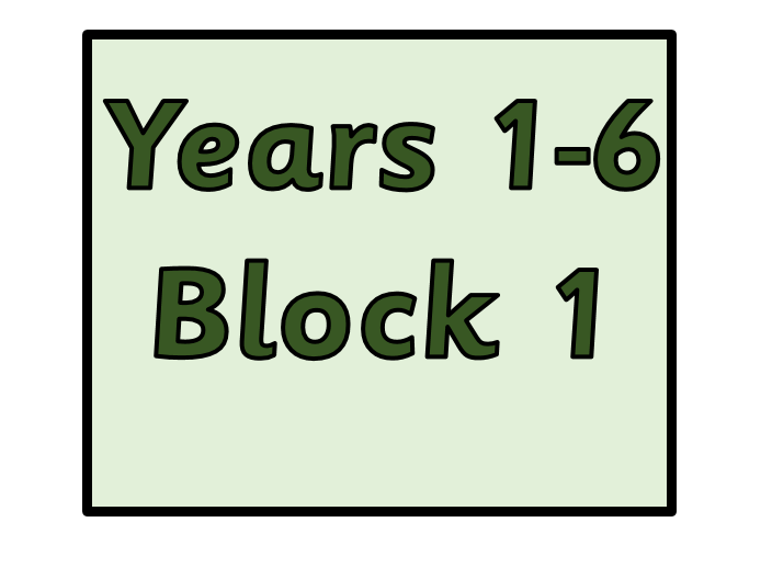 Whole School -  Block 1 - Place Value -  Years 1 2 3 4 5 6