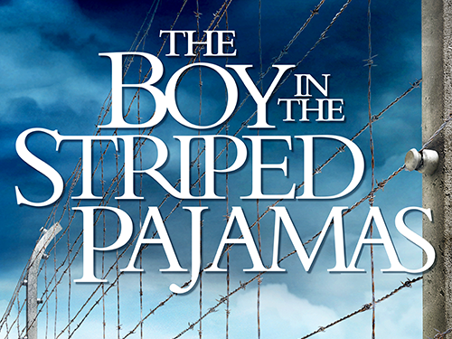 boy in striped pyjamas poster