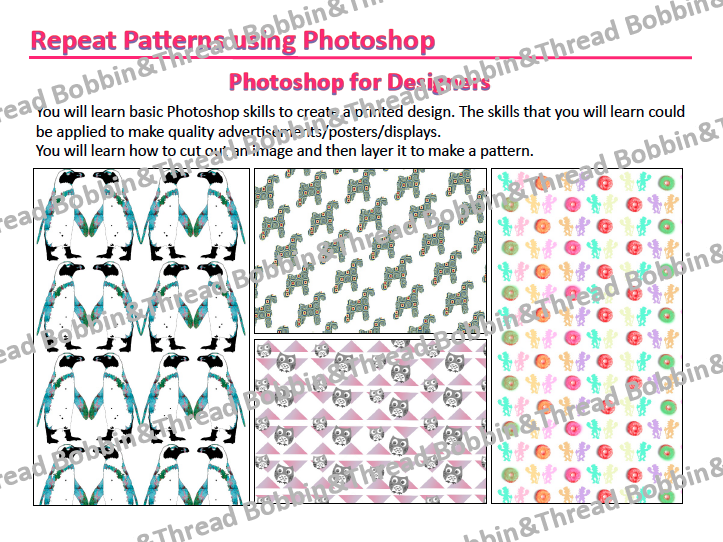 Photoshop Repeat Pattern Booklet
