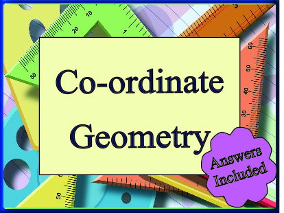 Co-ordinate Geometry For 'A' level with answers