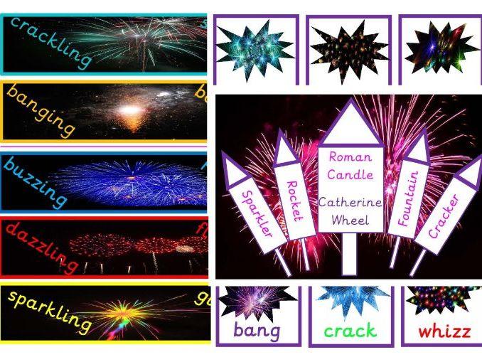 Fireworks Vocabulary