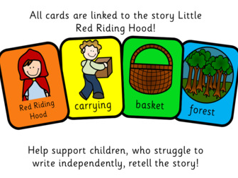Colourful Semantics: Little Red Riding Hood