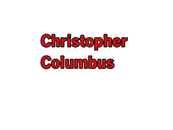 Christopher Columbus - Total Song Pack