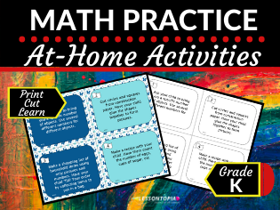 At Home Maths Practice Activities (Distance Learning)