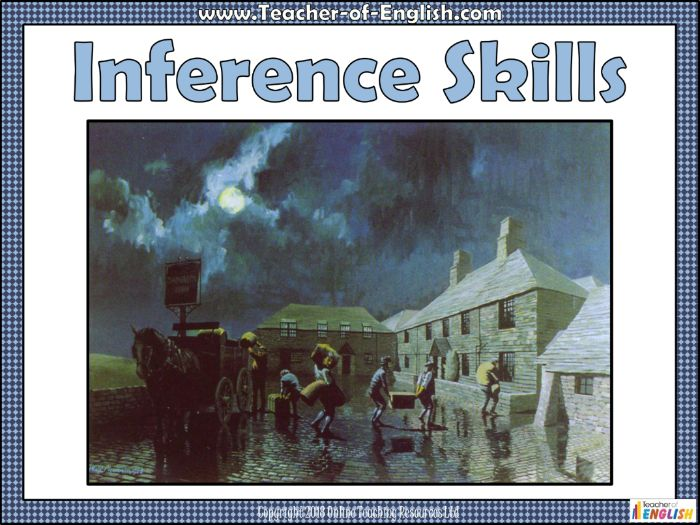 Inference Skills (PowerPoint and worksheets)