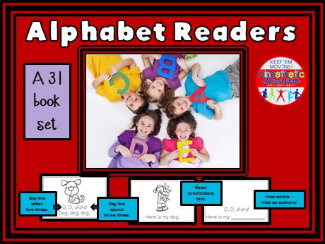 Alphabet Books A-Z Readers - Letter Sounds