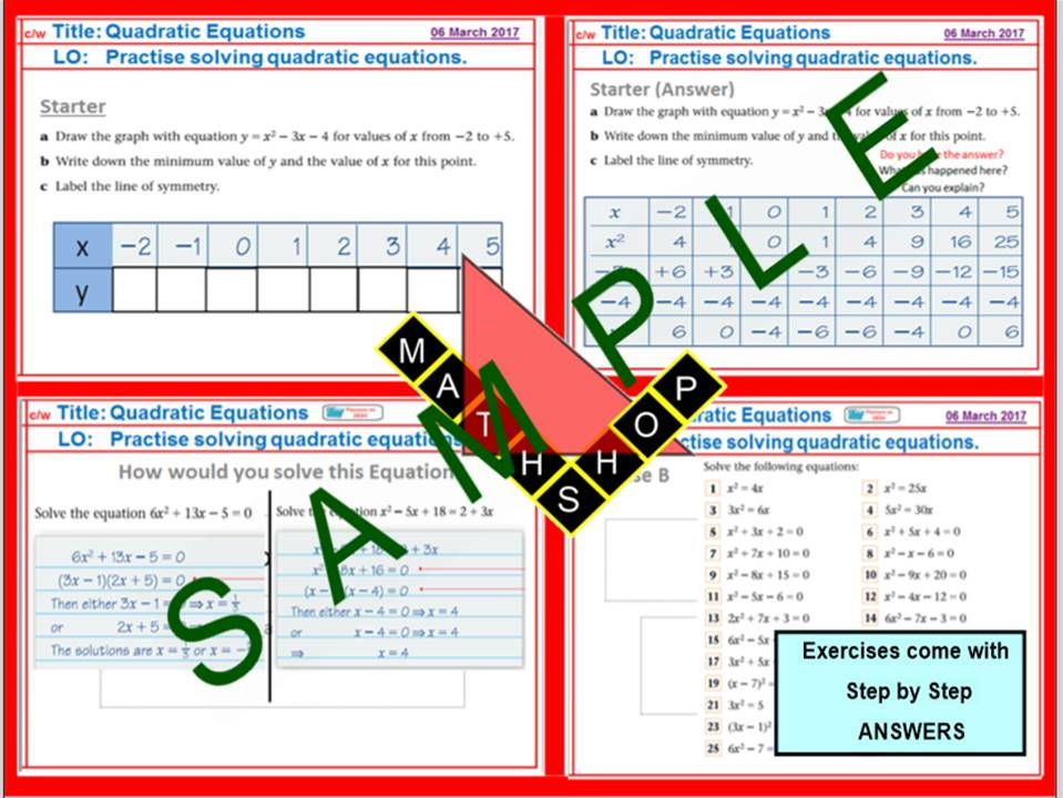 Middle school binomial expansion resources