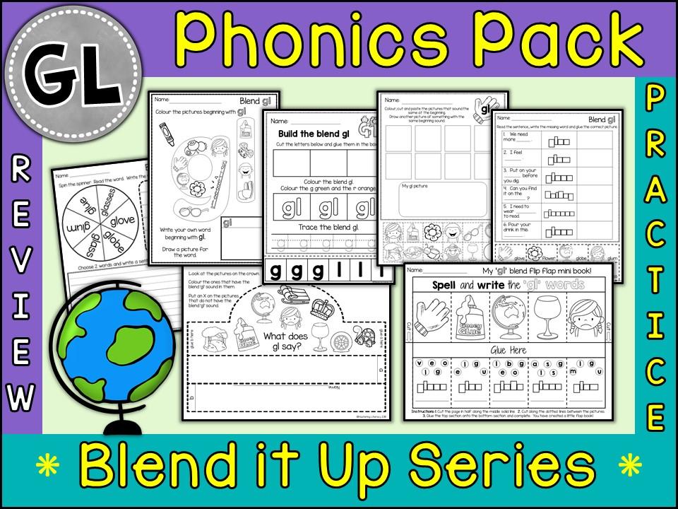 Phonics: Phonics Blend GL