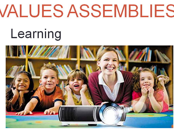Values PowerPoint Assembly - Learning