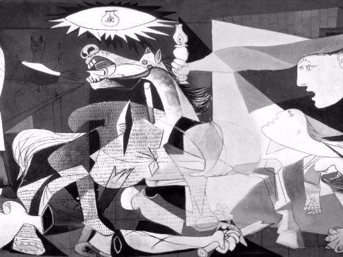 Guernica Art Lesson