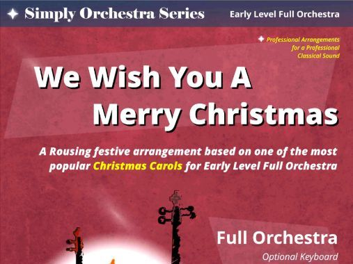 We Wish You A Merry Christmas (Full Orchestra)