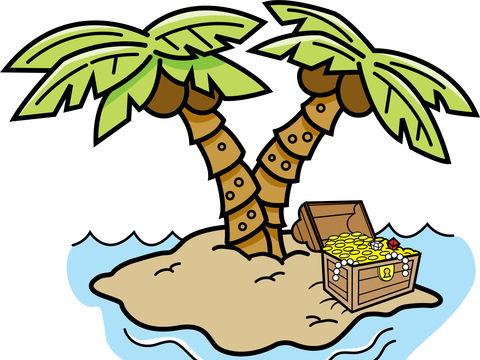 Caribbean Treasure Island: A Pirate Song