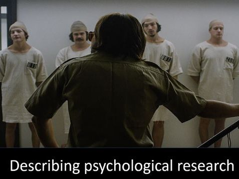 GCSE psychology skills: Stanford prison experiment