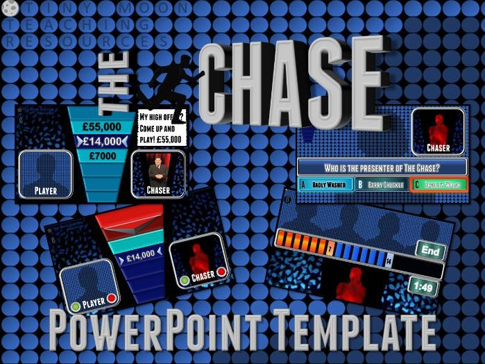 The Chase Customisable PowerPoint Template