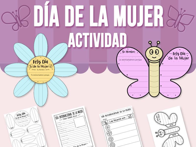 Día Internacional de la Mujer - Actividad (SPANISH VERSION)