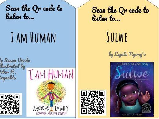 BAME Book QR cards