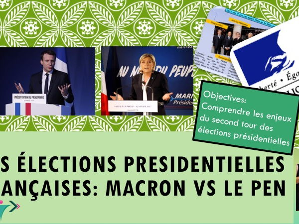 French election  Final round Macron VS Le Pen / Les elections françaises 2eme tour.