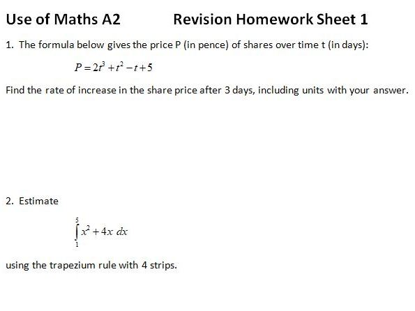 AQA Use of Maths (Pilot)