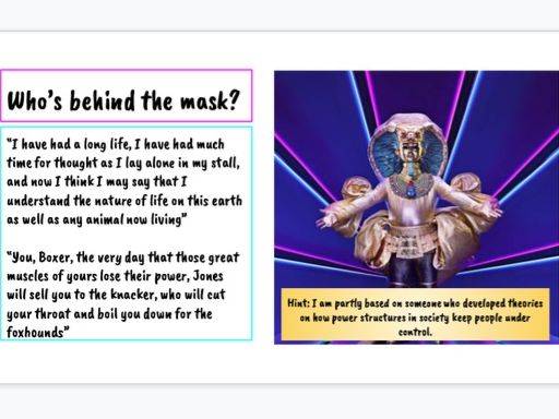 The Masked Singer- Animal Farm