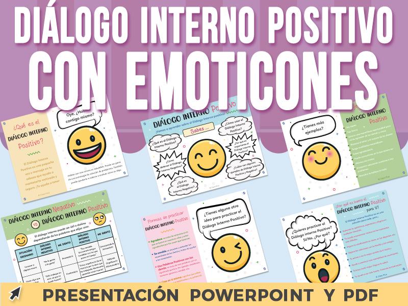 Diálogo Interno Positivo con Emoticones - Presentación PowerPoint