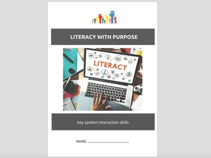 SPECIAL EDUCATION - LITERACY SKILLS (3) - SPOKEN INTERACTIONS (speaking) workbooklet