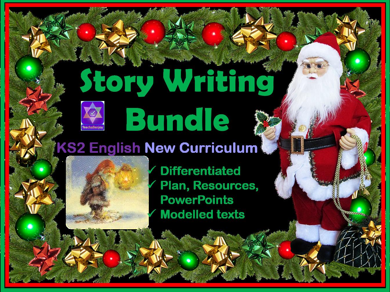 Christmas Story Writing Bundle KS2