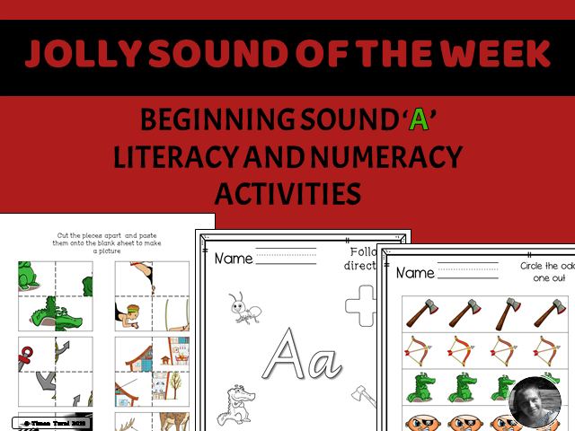 Jolly Sound of the Week -- /A/ as in Ant