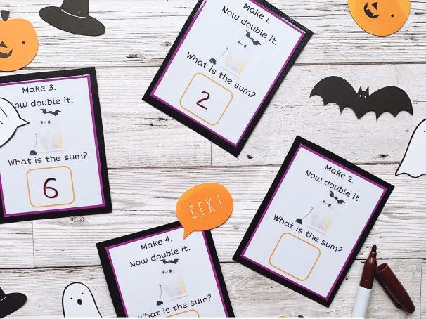 Halloween Doubling Cards