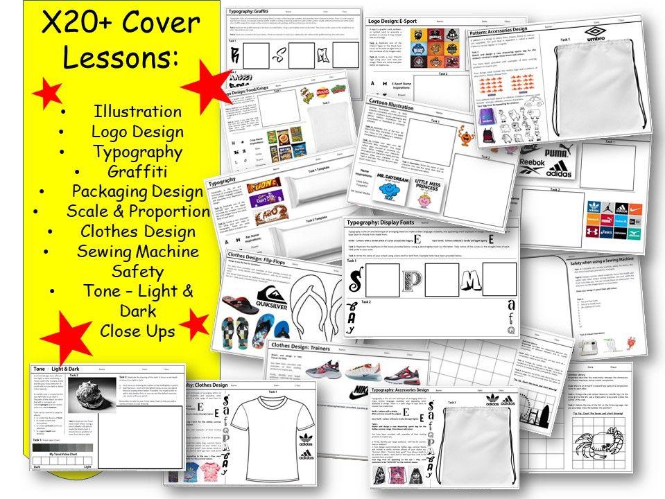 D&T  worksheets  x20+