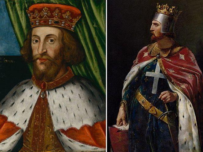 Richard and John L17 Rebellion of 1215