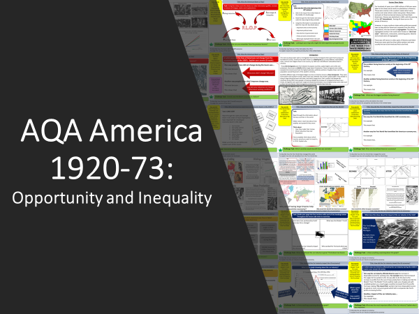 AQA America 1920-1973: Opportunity and Inequality