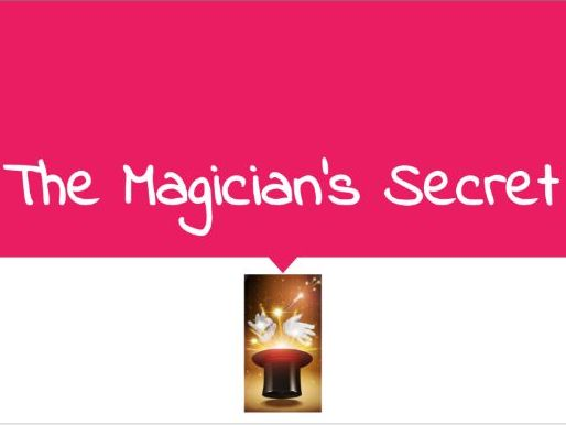 Guided Reading: Original Magician Story