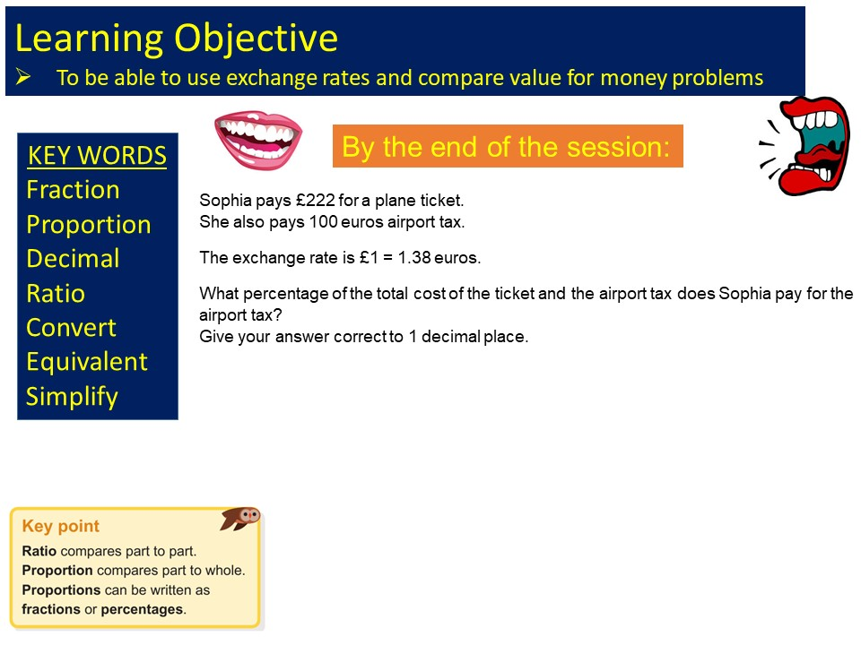 GCSE 1-9 Foundation Best Buys & Exchange Rates Revision