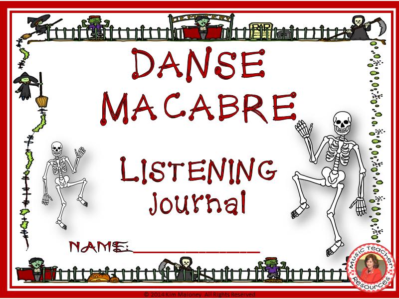 DANSE MACABRE Listening Worksheets/Journal
