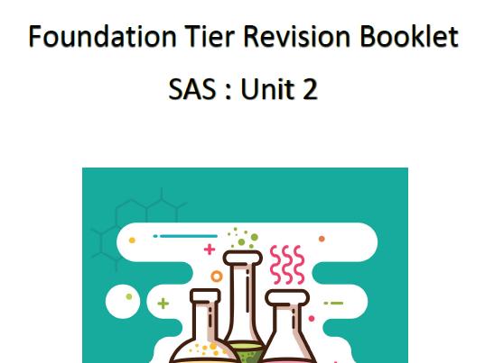 SAS Unit 2 Foundation Tier Revision Booklet