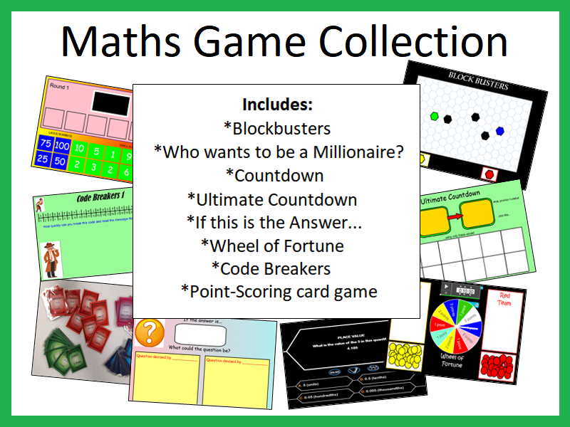 Maths Games Collection