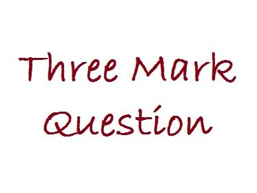 Year 6 Three Mark Question with Text and Answer Scheme