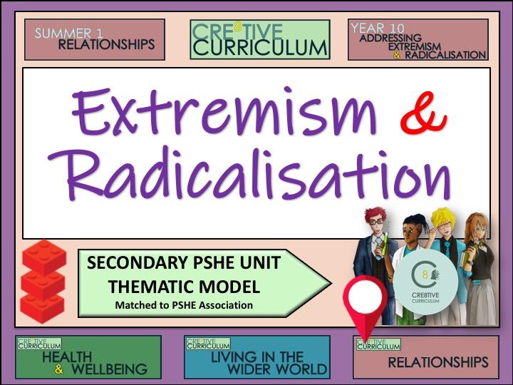 Addressing extremism and radicalisation - PSHE Programme Builder