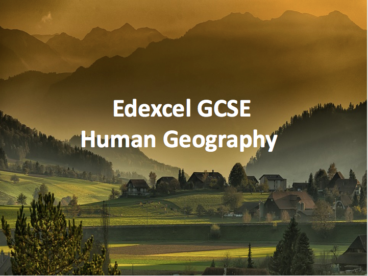Edexcel Human Geography