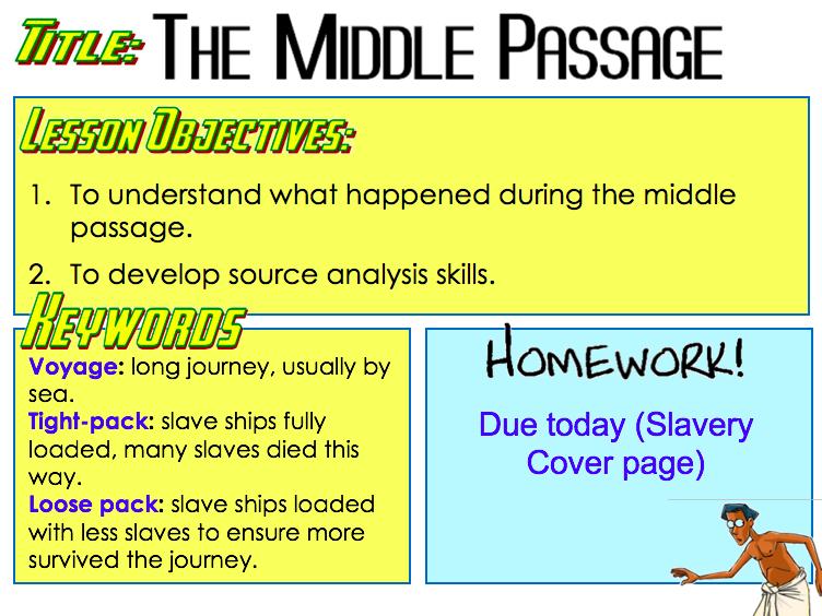 Slavery - Middle Passage
