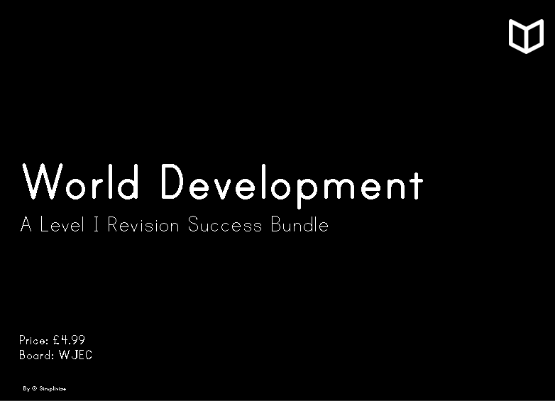 A2 World Development I Complete Revision Bundle