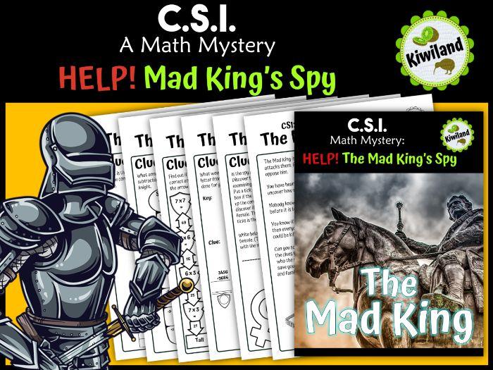 CSI: Math Mystery - The Mad King's Spy