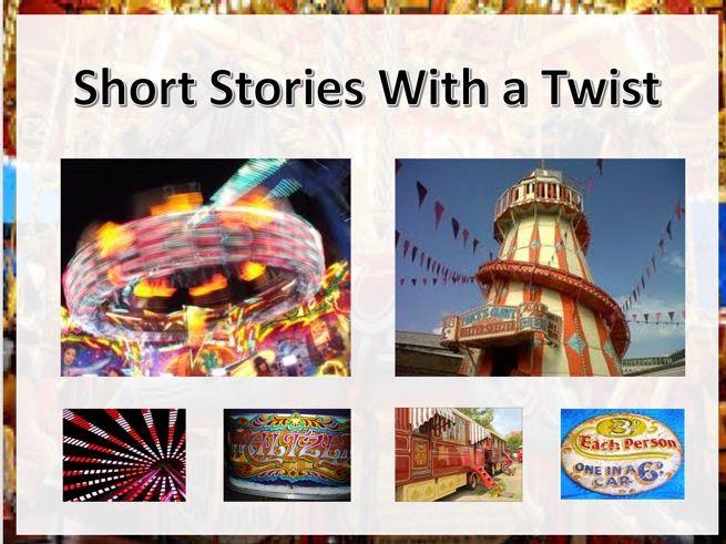 Twist in the Tale Short Story Planning 3 week Unit