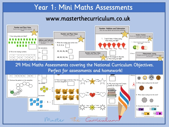 Year 1 – Mini Maths Assessments