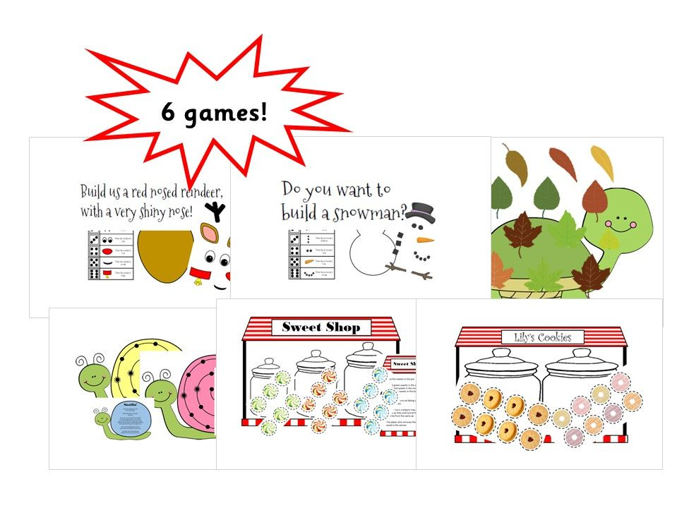 Early Years Maths and Strategy Game Bundle