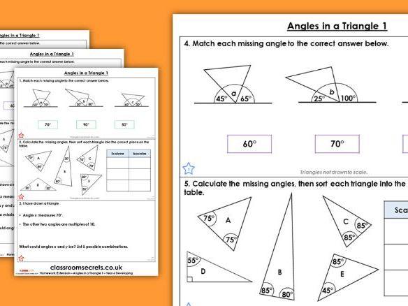 Help maths homework angles