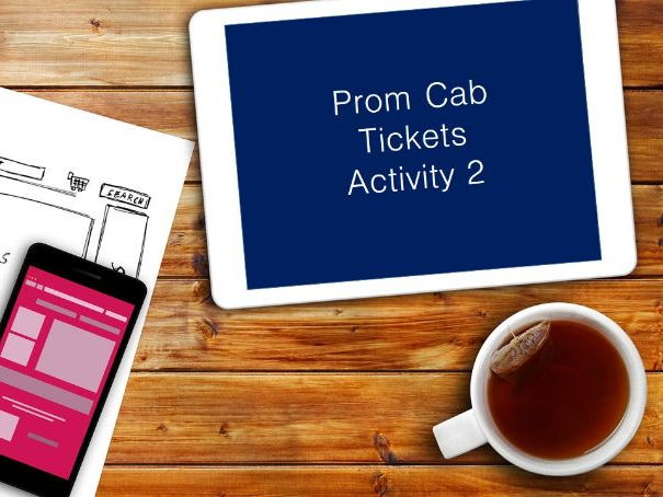Prom CAB - Tickets - Video Guides - GCSE Edexcel ICT