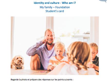Edexcel French GCSE - Photocards - My family