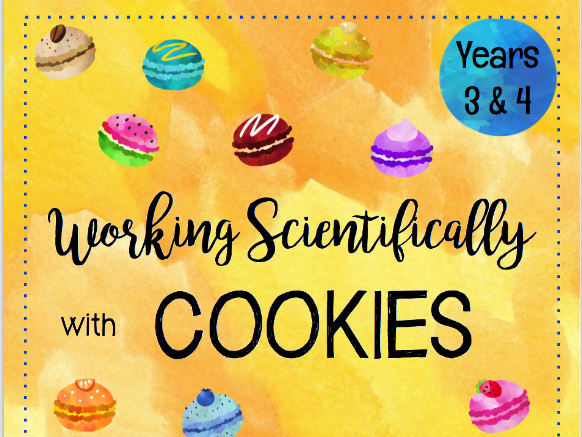 Working Scientifically with Cookies for Years 3 & 4